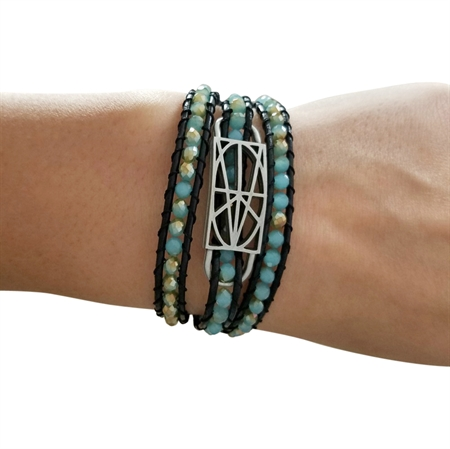 Picture of Crystal Wrap Bracelet